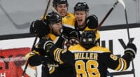 Mike Reilly thinks there's a mutual interest with the Boston Bruins. Kevan Miller undecided about his future. Big changes coming to the Bruins?