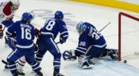 Maple Leafs pending UFAs Frederik Andersen, Joe Thornton and Jason Spezza on their future. Dubas and Shanahan on Auston Matthews, Mitch Marner