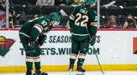 Minnesota Wild GM Bill Guerin hopes to sign RFAs Kirill Kaprizov, Joel Eriksson Ek and Kevin Fiala to long-term deals.