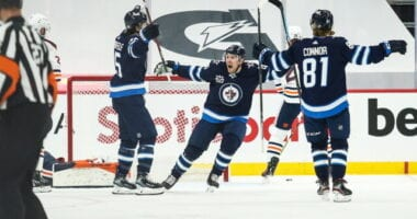 The Winnipeg Jets are allowed to have 500 healthcare workers. Jake DeBrusk fined. Contracts for De La Rose, Connaunton, Lodin and Plasek.