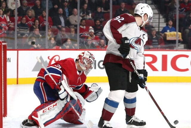 There are some bigger names that appear to be left unprotected by their teams for the expansion draft - Landeskog, Quick, Domi, Price, Dreidger