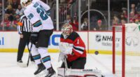 Sharks Timo Meier a fit in New Jersey? Colorado and Philipp Grubauer talking. Golden Knights make Alec Martinez an offer.