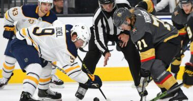 Sabres in serious Jack Eichel talks. Sabres asking price for Eichel for the Golden Knights might be... Leafs still eyeing Mikael Granlund.