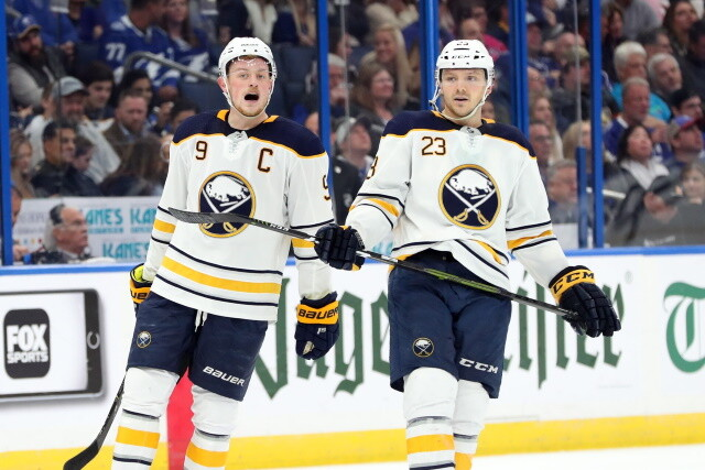 The Chicago Blackhawks have flexibility this offseason. Sam Reinhart getting lots of interest. Teams have seen Jack Eichel's medical records.