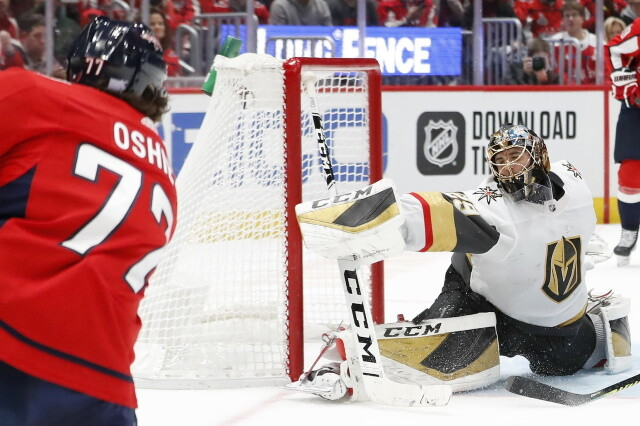 T.J. Oshie hopes to stay in Washington despite ties to the Seattle area. Ranking potential options in net for the Toronto Maple Leafs.