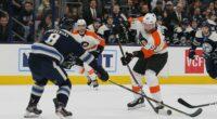 The Columbus Blue Jackets have traded forward Cam Atkinson to the Philadelphia Flyers for Jakub Voracek.
