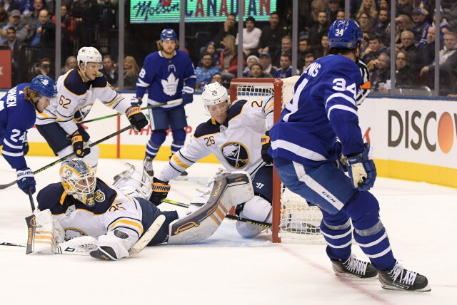 Columbus Blue Jackets likely staying put at No. 5. Sabres, Rasmus Dahlin talking extension. The Adam Larsson hole and a goaltender protege.