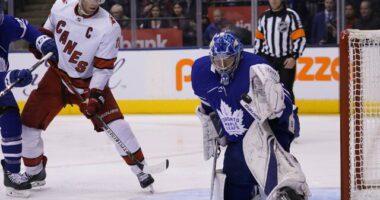 Frederik Andersen to Carolina? Toronto Maple Leafs goaltending options. Boston Bruins and Edmonton Oilers interested in Ryan Getzlaf.