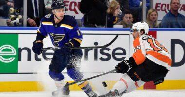 Philadelphia Flyers notes on Eichel, Reinhart, Ristolainen and Gostisbehere. Blues Jaden Schwartz to free agency. Landeskog speculation cools