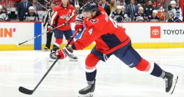 The Washington Capitals have traded defenseman Brenden Dillon to the Winnipeg Jets for a 2022 and 2023 second-round picks.