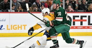 Next step for the Wild. Two teams already interested in Ryan Suter. Expansion decisions for the Predators. At least six in on Chris Driedger.