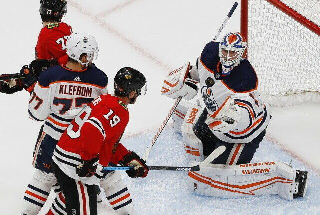 The Chicago Blackhawks will look at the Seattle Kraken and understand the value of cap space. The Edmonton Oilers eye a third-line center.