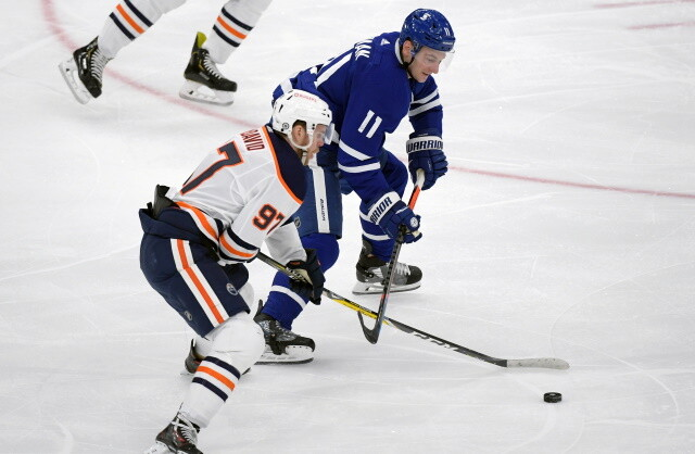 The ball is in the Toronto Maple Leafs court as Zach Hyman nears a deal with the Edmonton Oilers. Free agent forward options for the Leafs.