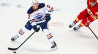 Edmonton Oilers talks with pending UFA Tyason Barrie increase after Adam Larsson leaves for Seattle. Some other free agent and trade options.