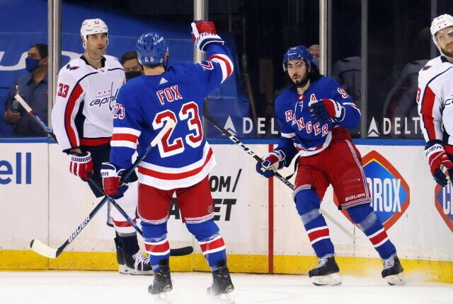Adam Fox and Mika Zibanejad may be looking for $9 million on their next deals. Could they even fit in Jack Eichel?