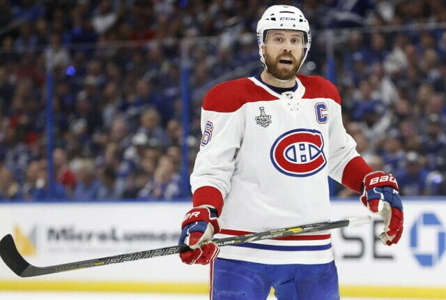The Montreal Canadiens may be exposing Shea Weber for the expansion draft as a foot injury clouds his future.