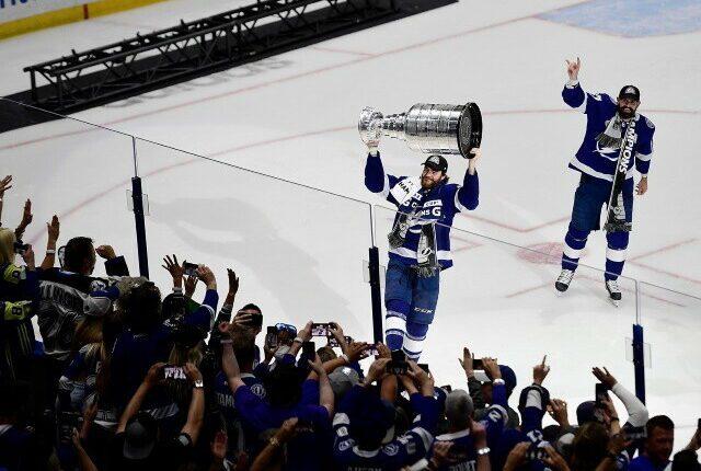 Top remaining NHL free agents. The Tampa Bay Lightning extend Brayden Point. Kraken trade Vitek Vanacek back to the Washington Capitals