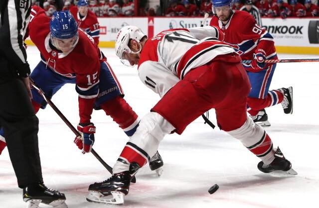 NHL Rumors: Jesperi Kotkaniemi, Carolina Hurricanes and the Montreal - USATSI 11744377 168394737 lowres