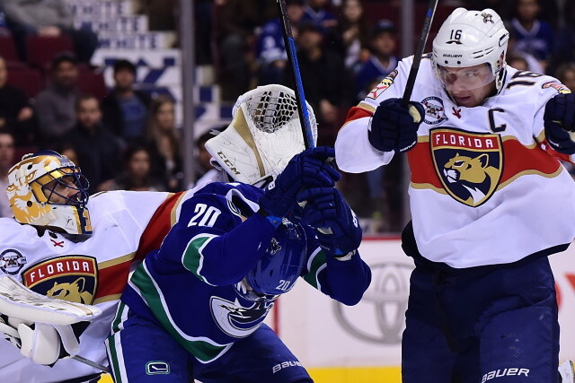 An Aleksander Barkov deal in place or real close. The Winnipeg Jets could look for a cheap forward. Where to put Jason Dickinson.