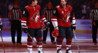 A look at the Arizona Coyotes salary cap projections, offseason moves, roster, 2021-22 free agents, 2022 draft picks, and season schedule.