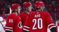 2021-22 Carolina Hurricanes season primer: salary cap projections, offseason moves, roster, 2021-22 free agents, 2022 draft picks, and schedule.