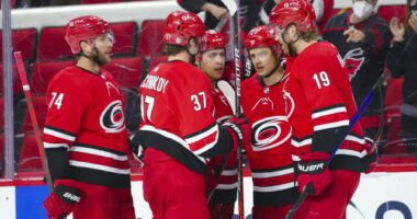 Five NHL coaches who could be on the hot seat and five ready to step in. The Carolina Hurricanes have some cap space left to add a winger.