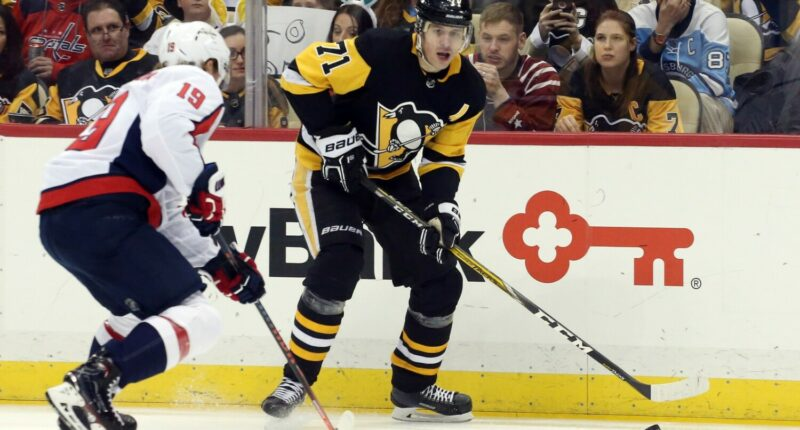 Evgeni Malkin out two months. Nicklas Backstrom rehabbing a hip injury. Five Montreal Canadiens failed their physicals.