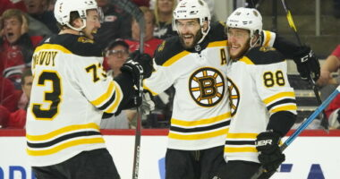 Both Charlie McAvoy and Patrice Bergeron are entering the final year of their contract with the Boston Bruins. McAvoy's camp isn't saying much