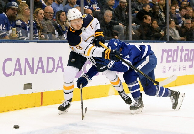 NHL Rumors: The Sabres and Jack Eichel, Maple Leafs and Morgan Rielly