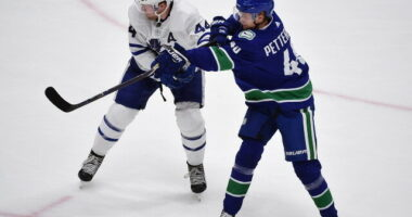 More cap casualties for the Toronto Maple Leafs coming? Over $8 million for Quinn Hughes shouldn't be a surprise. Elias Pettersson's agents waiting for others?