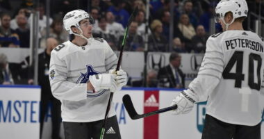The Vancouver Canucks continue to talk with the agents for Quinn Hughes and Elias Pettersson as training camp is about to open.