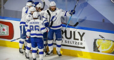 2021-22 Tampa Bay Lightning season primer: salary cap projections, offseason moves, roster, 2021-22 free agents, 2022 draft picks, and schedule.