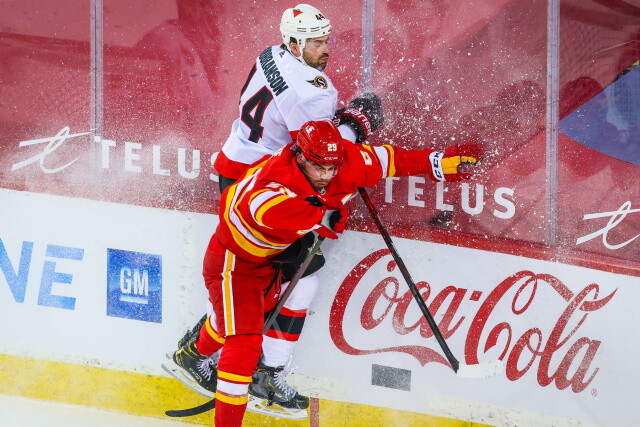 The New York Islanders finally announce Zach Parise signing. The Calgary Flames sign Erik Gudbranson and Michael Stone
