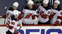 2021-22 New Jersey Devils season primer: salary cap projections, offseason moves, roster, 2021-22 free agents, 2022 draft picks, and schedule.