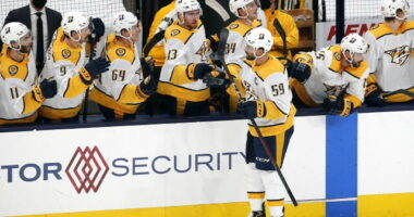 2021-22 Nashville Predators season primer: salary cap projections, offseason moves, roster, 2021-22 free agents, 2022 draft picks, and schedule.