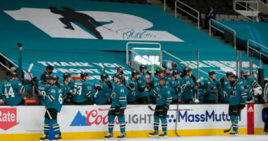 2021-22 San Jose Sharks season primer: salary cap projections, offseason moves, roster, 2021-22 free agents, 2022 draft picks, and schedule.