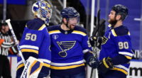 2021-22 St. Louis Blues season primer: salary cap projections, offseason moves, roster, 2021-22 free agents, 2022 draft picks, and schedule.
