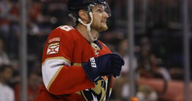 There have been some reports that the Florida Panthers and Aleksander Barkov were real close on a contract extension but that may not be case just yet.