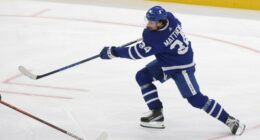 Columbus Blue Jackets replace coach Lefebvre. Auston Matthews hopes to be ready for Game 1. Ryan Kesler knows his playing days are over.