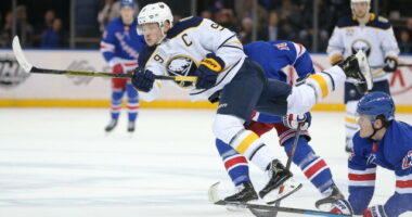 Jack Eichel's agent continues to talk with Buffalo Sabres GM Kevyn Adams and interested teams as they hope to have a resolution soon.