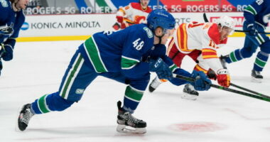 Players put on waivers. Vancouver Canucks, Florida Panthers make a trade. Alexander Nylander waiver exempt. Vincent Trocheck to the IR.