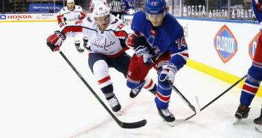 Vitali Kravtsov didn't make the New York Rangers opening day roster. Agent Dan Milstein now has permission to seek a trade for Kravtsov.