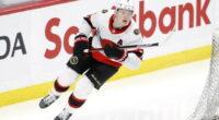The Ottawa Senators have re-signed RFA forward Brady Tkachuk to a seven-year contract worth $57.5 million - an $8.214 million AAV.