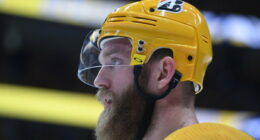 The Nashville Predators and defenseman Mattias Ekholm agreed on a four-year contract extension with a $6.5 million cap hit.