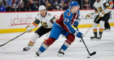 Nathan MacKinnon tests positive for COVID, out tonight. Brian Boyle, Alex Chiasson, Kieffer Bellows and Parker Kelly get new deals.